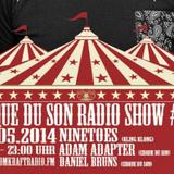 Cirque du Son Radioshow #025 Adam Adapter
