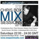 Chris Box Mix Sessions, Starpoint Radio, 10/12/2016 (HOUR 1)