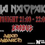 47/2016 Pila Naopako / intervjui sa Exodus i Amon Amarth + noviteti 4.12.2016.