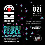 VANGUARD RADIO Episode 021 with TEKNOBRAT - 2016-09-24th CHUO 89.1 FM Ottawa, CANADA
