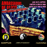 AOG 1st Birthday Party LIVE  DJ's Dead Wood RockitMan MonkPfunk MC's ChitterChatter n BruceMan PT 1