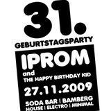 27.11.2009 - The Happy Birthday Kid @ Soda Bar Bamberg