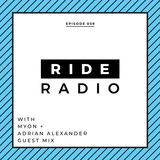 Ride Radio 059 with Myon + Adrian Alexander Guest Mix