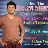 Exclusive interview of Asad Raza Sonu at Funnypaki Web Radio