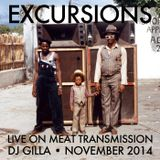 Excursions Radio Show #36 - Live on MeatTransmission November 2014 with DJ Gilla
