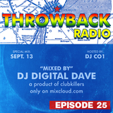 Throwback Radio #25 - Digital Dave (Motown Mix)