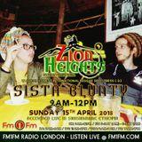15.04.18 / In conversation w/Sista Blunty / Zion Heights / Hour 2