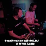 TechKwando b2b with SOLDJ on Chip Verco's bday bash at MWS Radio Kemzeke
