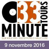 33 TOURS MINUTE - Le meilleur de la musique indé - 09 novembre 2016