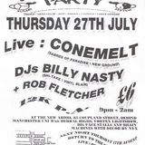 Billy Nasty at Herbal Tea Party (Manchester - UK) - 27 July 1995