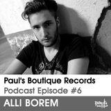Paul's Boutique Records Podcast #6 Alli Borem