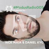 #ModusRadio005 - Daniel Kyo