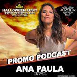DJ Ana Paula El Mozo Halloween Fest 2018 - Podcast