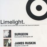 "James Ruskin & Surgeon at ""Tresor Label Night"" at Limelight (New York - USA) - 13 January 2001"