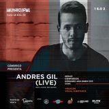 Andres Gil LIVE JAM @ Municipal, Cambrico Party - Bucaramanga 16.03.2019
