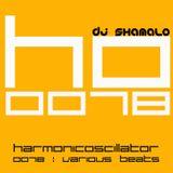 HarmonicOscillator#0078 : Various Beatz