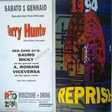 Terry Hunter @ Red Zone, Perugia - 01.01.1994