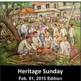 Feb. 1, 2015 edition - Heritage Sunday