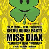 dj Anakyn @ Fuse - Rretro House Party 11-03-2016