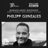 Bondage Music Radio - BMR 244 mixed by Philipp Gonzales - 04.07.2019