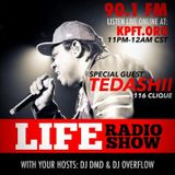 Tedashii Interview on Life Radio W/ DjDMD & DJOVERFLOW PART2