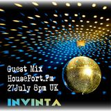 Guest Mix for HousePort FM 27 July 2016