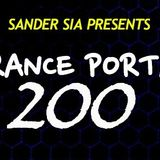 Sander SIA - TrancePORTAL #200 Live