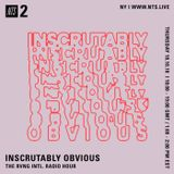 Inscrutably Obvious - 18th October 2018
