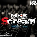 Scream RadioMixShow Episode 190
