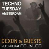 Techno Tuesday Amsterdam 064 with Dexon featuring Sisko Electrofanatik