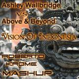 Above & Beyond VS Ashley Wallbridge – Vision Of Indonesia (Roberto Krome MashUp)
