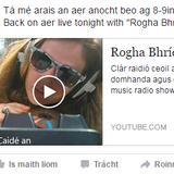Rogha Bhríde 2016.08.26 - ceol domhanda agus caint i nGaeilge bhinn Thír Chonáil :-)
