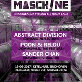Poon & Relou at MASCHINE 3, Eindhoven, 19-05-2017