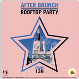 Torrione B2B Be.Lanuit @ After Brunch Rooftop Party 22 - 02 - 2016