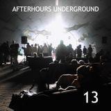 AFTERHOURS UNDERGROUND 13 Mixed by Buddhafish