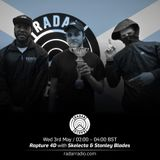 Rapture 4D, Stanley Blades + Skelecta - 3rd May 2017