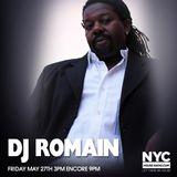 DJ ROMAIN On NYCHOUSERADIO.COM 2016