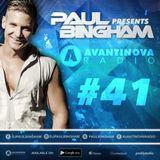 #41 - PAUL BINGHAM - AVANTINOVA RADIO