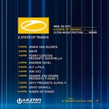 Armin van Buuren (Warm-up set) - Live @ ASOT, Ultra Music Festival 2017 (Miami, USA) - 26.03.2017