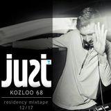JUST residency mixtape by Kozloo68