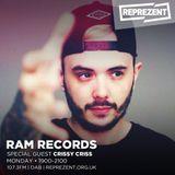 Crissy Criss (Machine Made Records, Technique Rec.) @ Reprezent Radio 107.3 FM - London (14.08.2017)