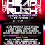 (AFROBEATS) - HEADRUSH 13TH OCTOBER @ EPSILON (LEICESTER) @DEEJAYJINGLEZ
