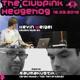 002 The Clubpink Hedgehog- Kevin Weigel meets Raumakustik (live)