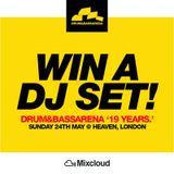 'Drum&BassArena 19 Years DJ Comp' DJ 4REAL ... GET REAL