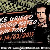 Kevin Toro @ Live at Bahrein Buenos Aires - 14.02.2015