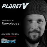 Planet V Radio on Bassdrive  with Rowpieces  March 2018