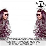Tracklistings Mixtape #096 (2014.04.25) : asid tRf - Tracklistings Exc Electro Mixtape Vol. 2