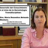 Conferencia: Desarrollo del conocimiento en el área de la gerontología educativa. Un enfoque transdi