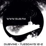 Dubvine SubFM 30/3/13 Saturday Cover