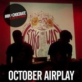 Milk'n'Chocolate's October 2015 Airplay